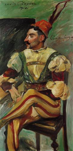 Lovis Corinth - Cesare Borgia