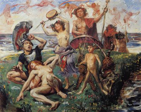 Lovis Corinth - Ariadne on Naxos
