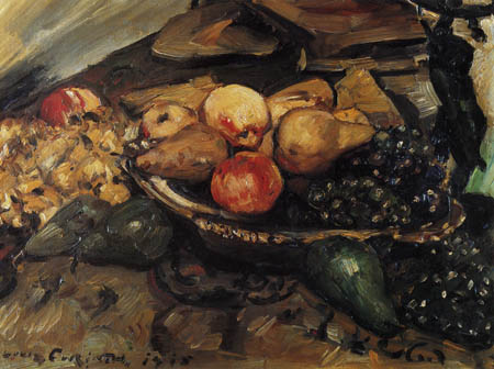 Lovis Corinth - Fruit still life