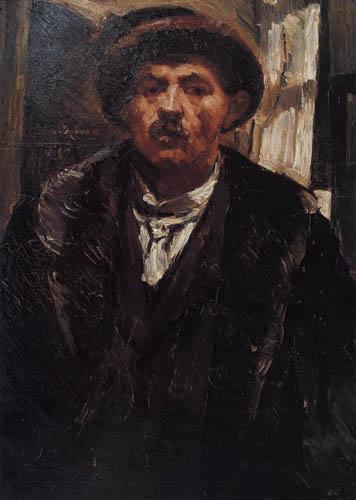 Lovis Corinth - Selfportrait