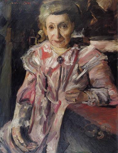 Lovis Corinth - Mrs. Hedwig Berend