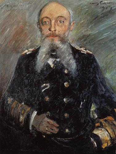 Lovis Corinth - Alfred of Tirpitz