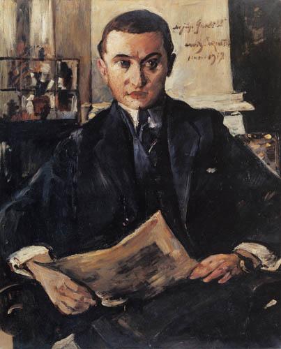 Lovis Corinth - Portrait of Wolfgang Gurlitt