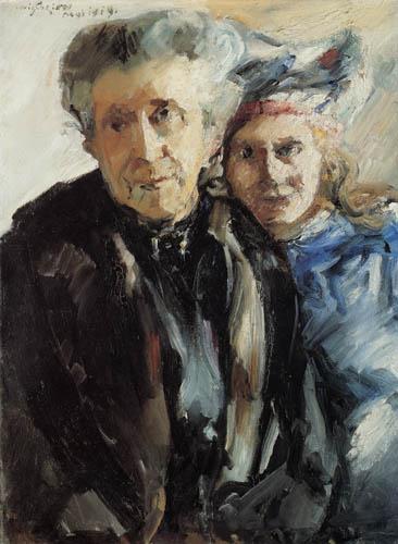 Lovis Corinth - Großmutter und Enkelin