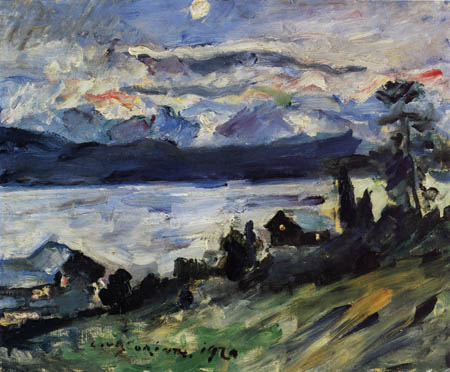 Lovis Corinth - Walchensee, Johannisnacht