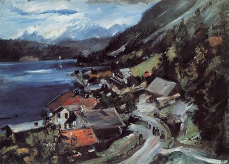 Lovis Corinth - Walchensee, Serpentine
