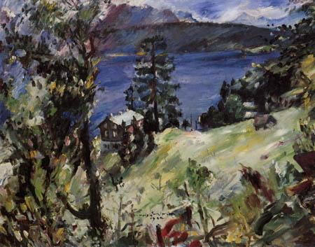 Lovis Corinth - Walchenseelandschaft