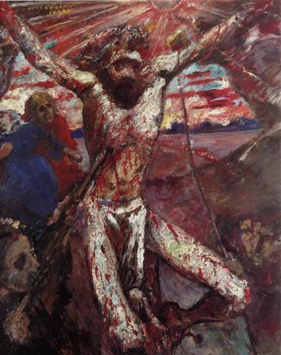 Lovis Corinth - Der rote Christus