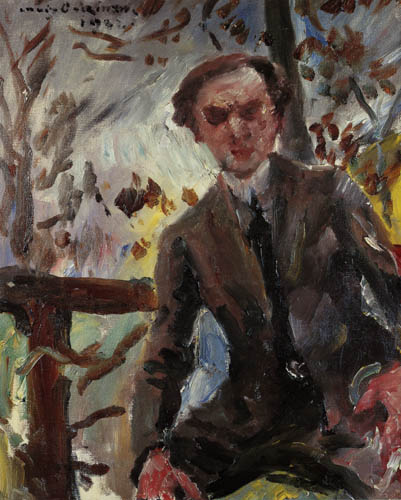 Lovis Corinth - The Painter Leo Michelson
