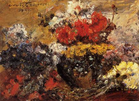 Lovis Corinth - Autumn Flowers