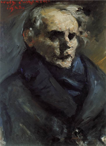 Lovis Corinth - The Painter Bernt Groenvold