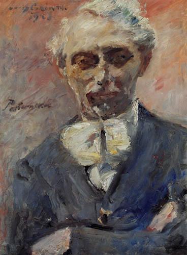 Lovis Corinth - The Painter Leonid Pasternak