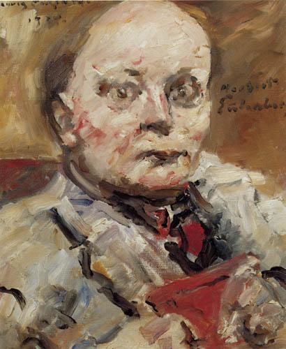 Lovis Corinth - The Poet Herbert Eulenberg