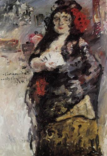 Lovis Corinth - Carmencita