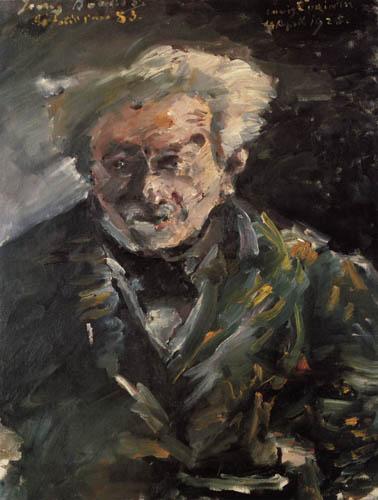 Lovis Corinth - Georg Brandes
