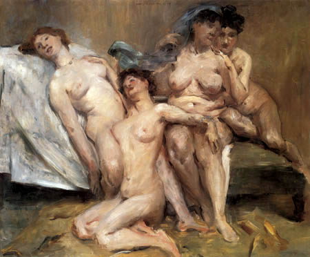 Lovis Corinth - Group of women