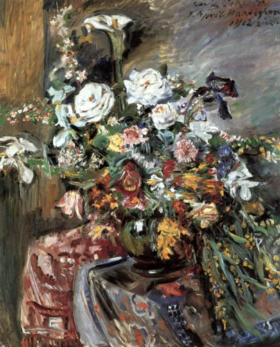 Lovis Corinth - Bunch of flowers