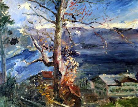 Lovis Corinth - Baum am Walchensee