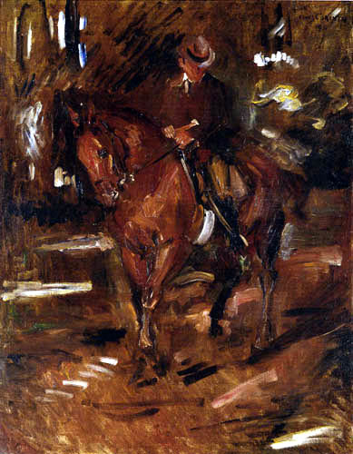 Lovis Corinth - Morning Ride