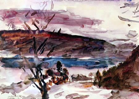 Lovis Corinth - Walchensee