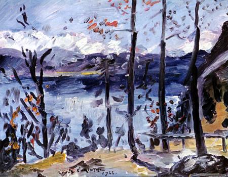 Lovis Corinth - Ostern am Walchensee
