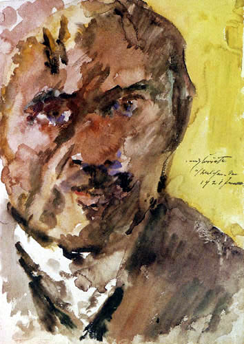 Lovis Corinth - Self-portrait