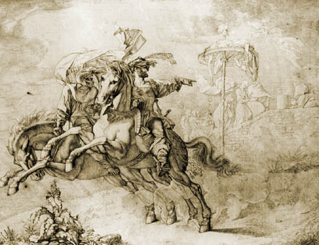 Peter von Cornelius - Apparition
