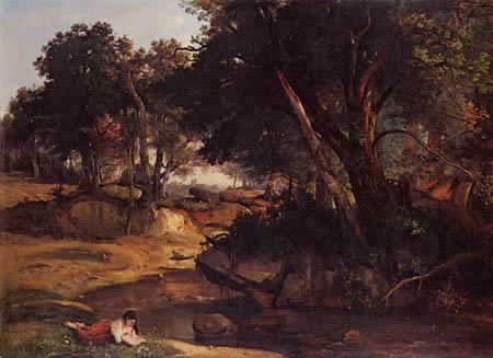 Jean-Baptiste Corot - Der Wald von Fontainebleau