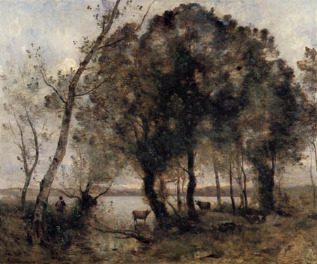 Jean-Baptiste Corot - Le Lac