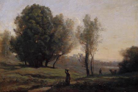 Jean-Baptiste Corot - Erinnerung an Les Landes