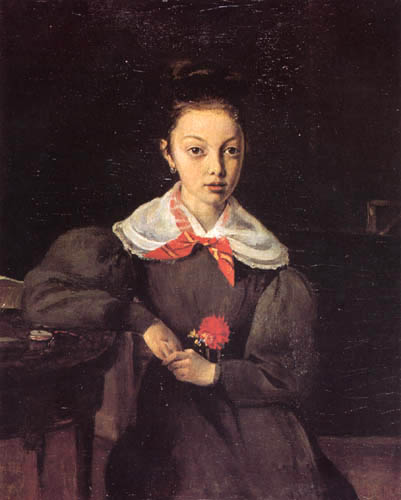 Jean-Baptiste Corot - Madame Chamouillet