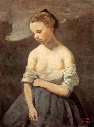 Jean-Baptiste Corot - Die kleine Jeannette