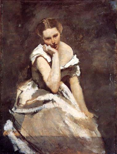 Jean-Baptiste Corot - Melancolía