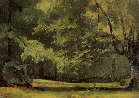 Jean-Baptiste Corot - Im Wald von Fontainebleau