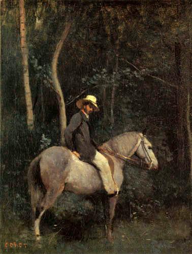 Jean-Baptiste Corot - Monsieur Pivot