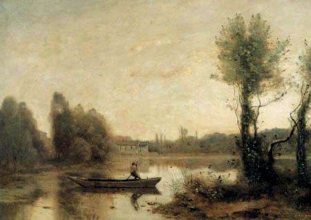 Jean-Baptiste Corot - La charca, Ville-dÁvray