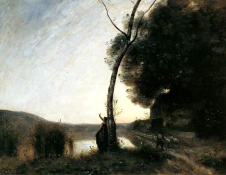 Jean-Baptiste Corot - Vesper