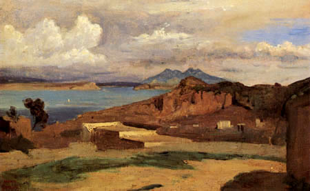 Jean-Baptiste Corot - Ischia, vue de Epomeo