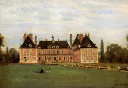 Jean-Baptiste Corot - Rosny, das Schloss der Herzogin von Berry