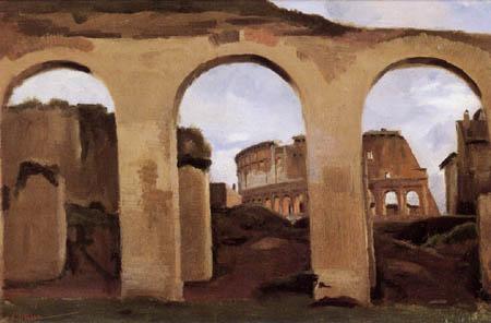 Jean-Baptiste Corot - Das Kolosseum, Rom