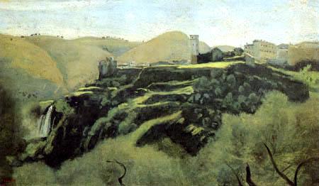 Jean-Baptiste Corot - Les cascades de Tivoli