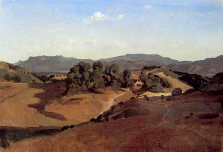 Jean-Baptiste Corot - Olevano