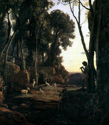 Jean-Baptiste Corot - Hirte in Arkadien