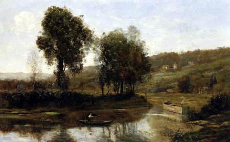 Jean-Baptiste Corot - Seinebogen bei Port-Marly