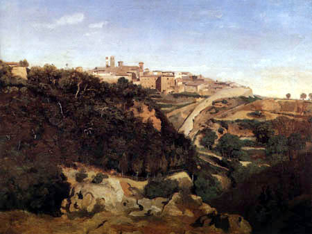 Jean-Baptiste Corot - Volterra