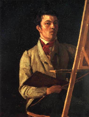 Jean-Baptiste Corot - Autorretrato
