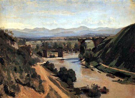Jean-Baptiste Corot - Die Brücke von Narni