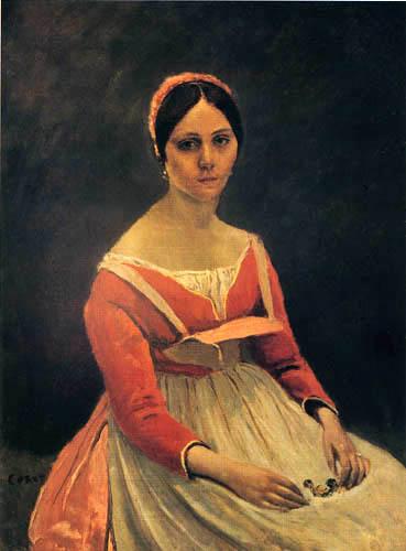 Jean-Baptiste Corot - Portrait de Madame Legois