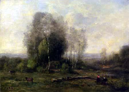 Jean-Baptiste Corot - Die Waldlichtung