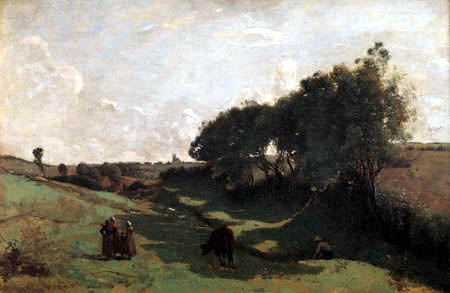 Jean-Baptiste Corot - La vaguada